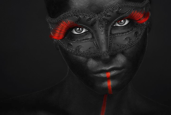 Shes Got the Black by P. Petkov Graphic Design and Photography