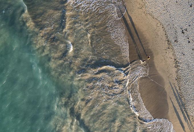 Beach Work by Wind Watcher
