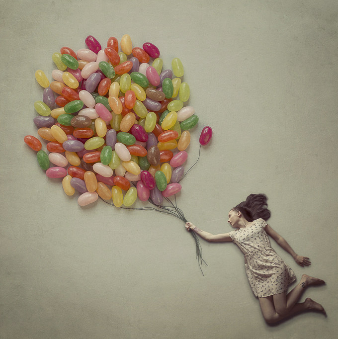 Jelly Balloons by Sasha O