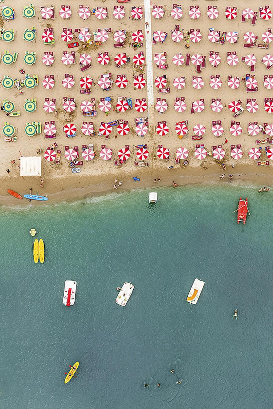 Aerial Views Adria by Bernhard Lang