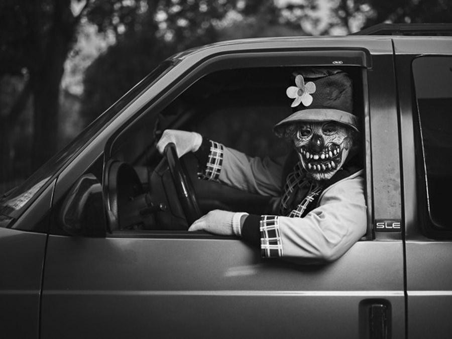 Halloween in Brooklyn by Joey L._