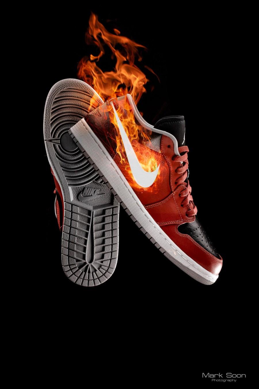 Nike Jordan AJ1 Low by Mark Soon