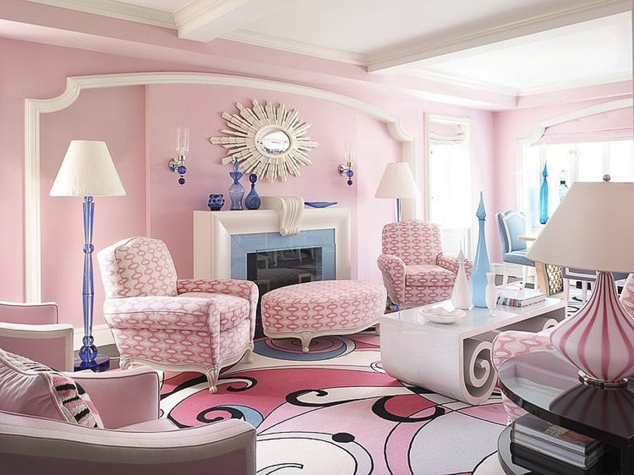 Pink Home in NYC by Home Adore