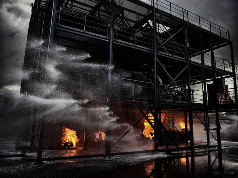 Fire Drill by Robert Peek Fotografie
