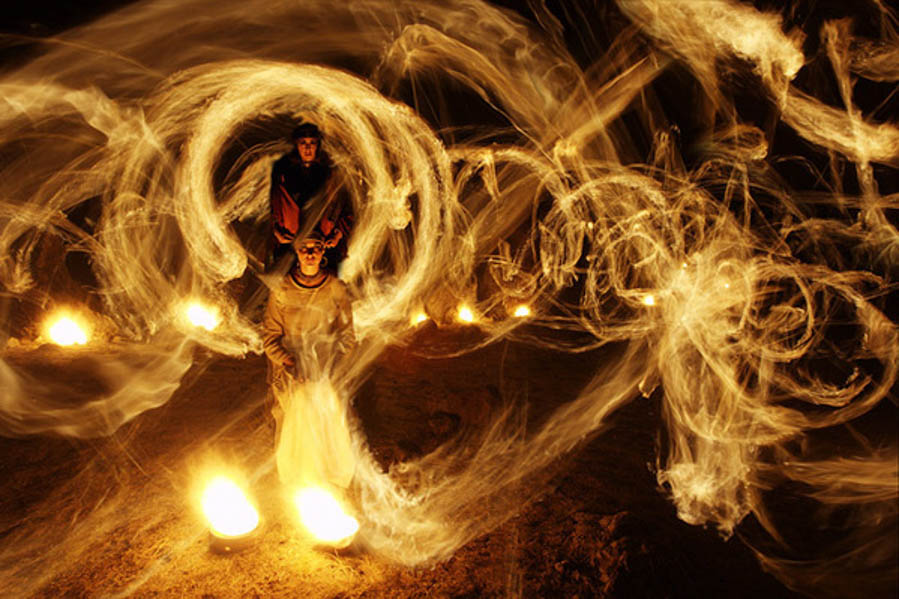 Fire Worshippers by Suren Manvelyan