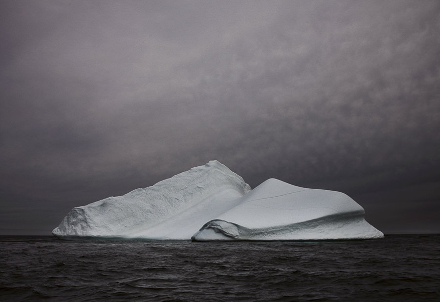 Melt Portrait of an Iceberg by Simon Harsent