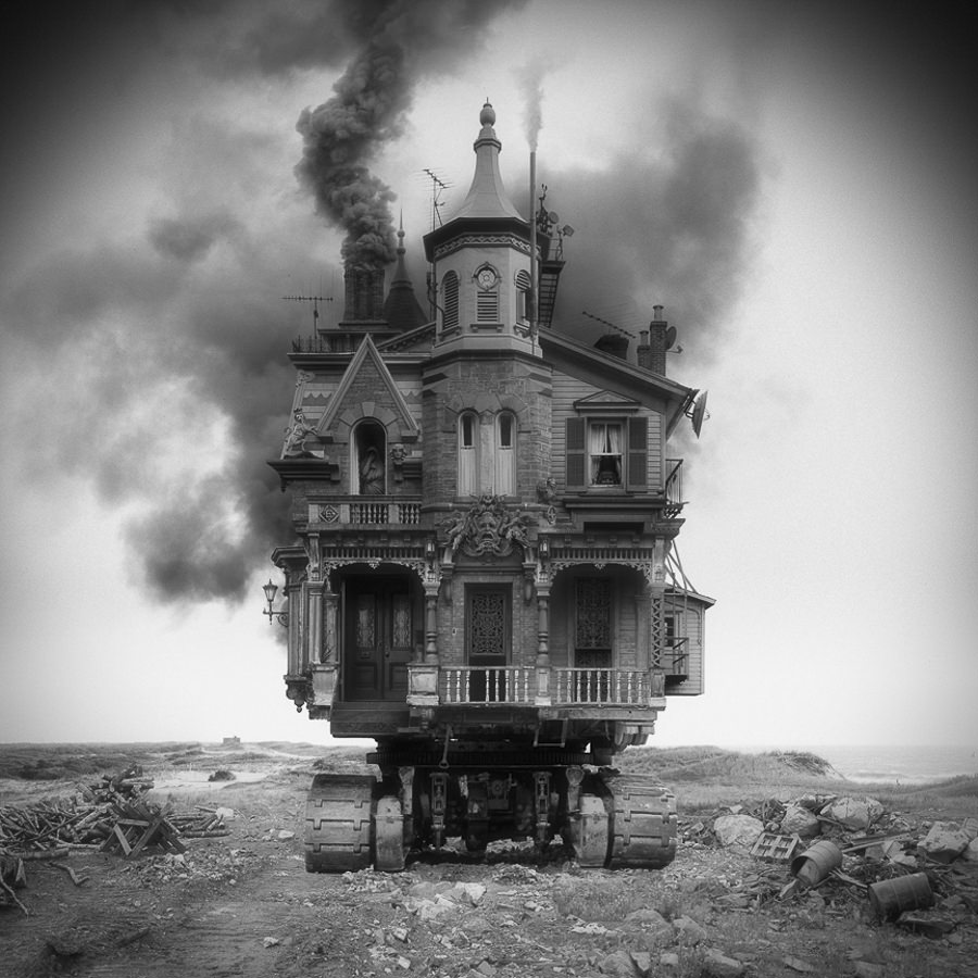 Untitled (vehicle) by JIM KAZANJIAN_