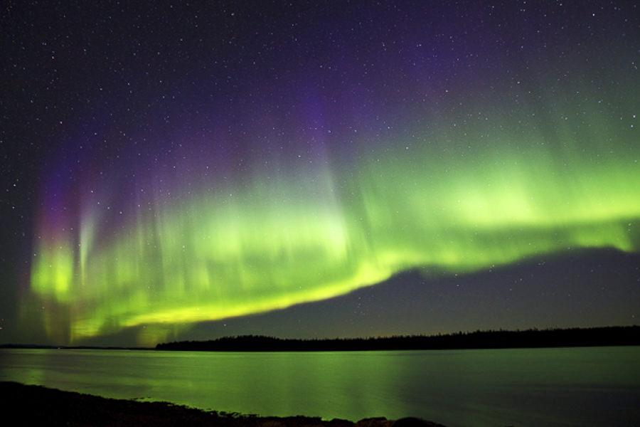 Auroras of the White Sea by Alexander Semenov