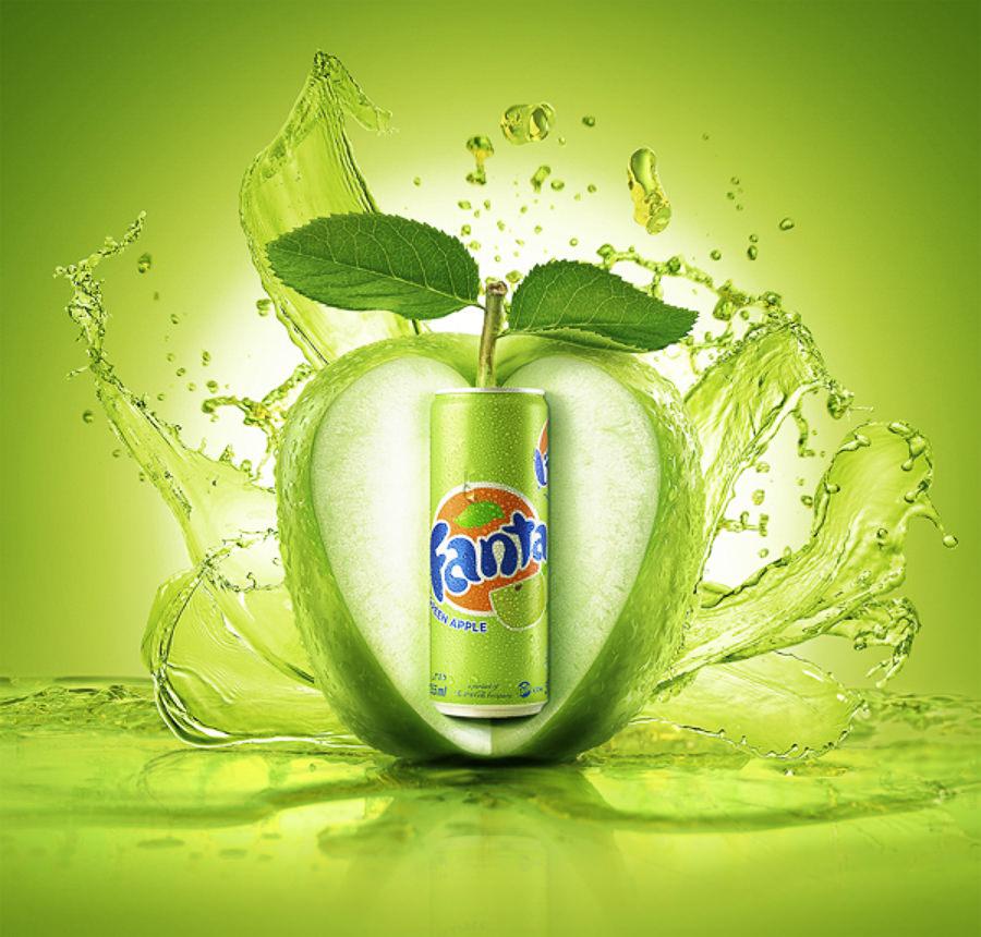 Fanta Green Apple by LEAP STUDIOS