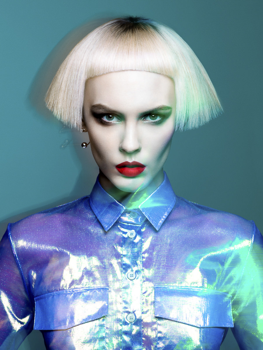 NAHA Finalist Master Hairstylist of the Year Allen Ruiz by Yulia Gorbachenko