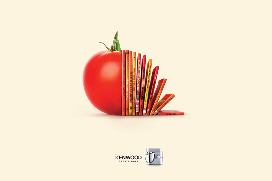 Recipe Print and Outdoor for Kenwood 2015 by Michael Fillon