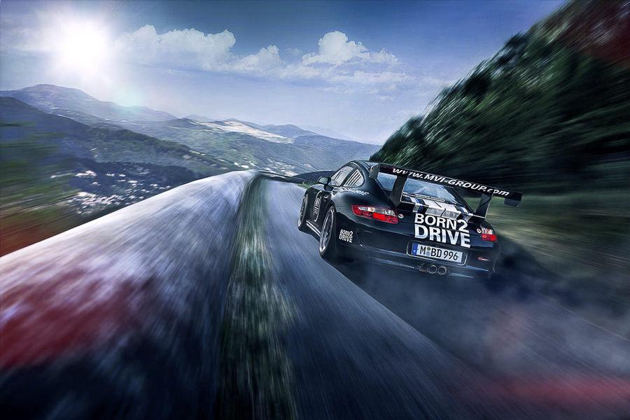 BORN2DRIVE Porsche 997 GT3 CUP, France  by Philipp Rupprecht
