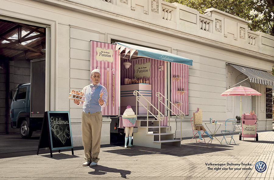Zombiestudio for VW Delivery Truks by Zombie Studio