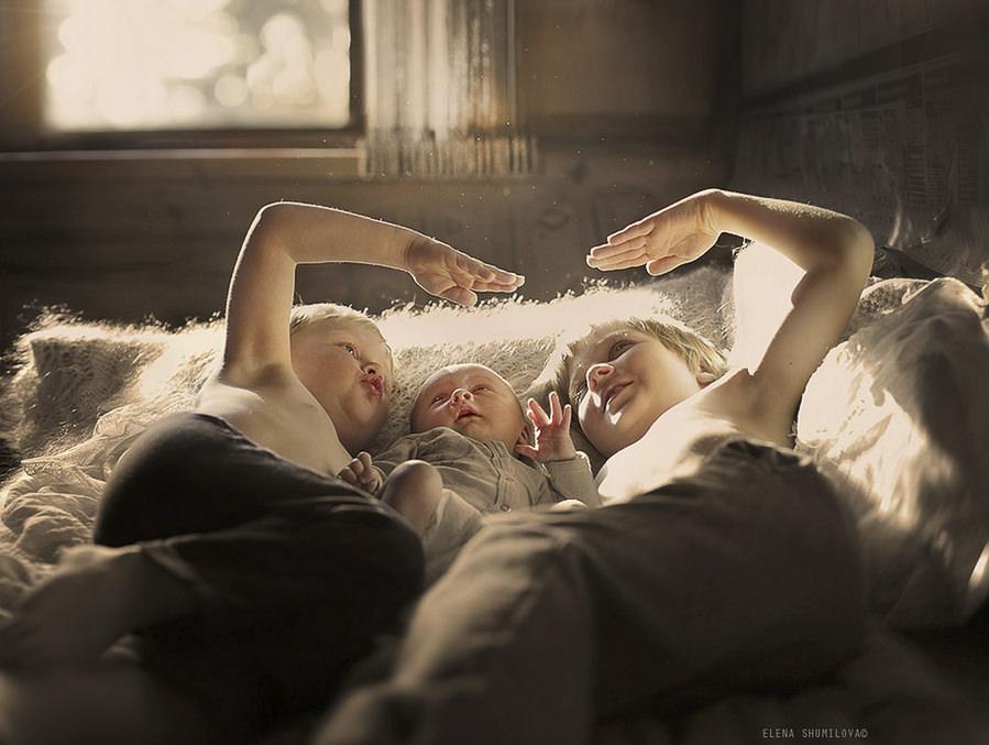 brothers by Elena Shumilova