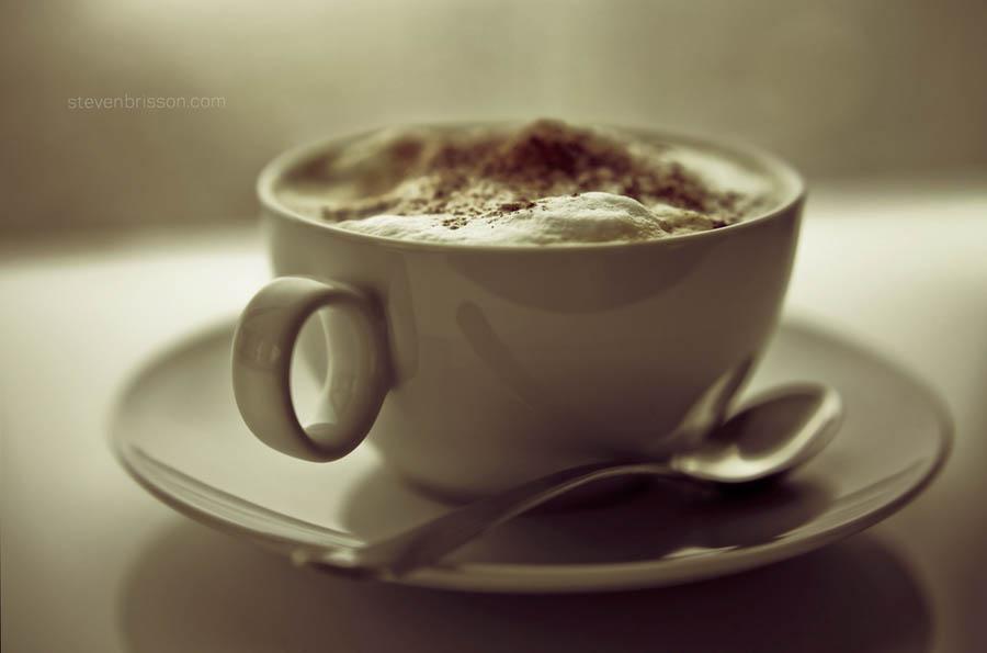 Sleep is a symptom of caffeine deprivation. by Steven Brisson