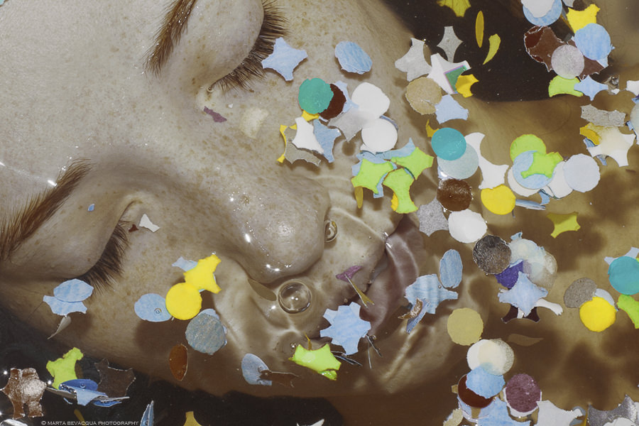 THE UNEXPECTED and CRYSTALLIZATION by Marta Bevacqua