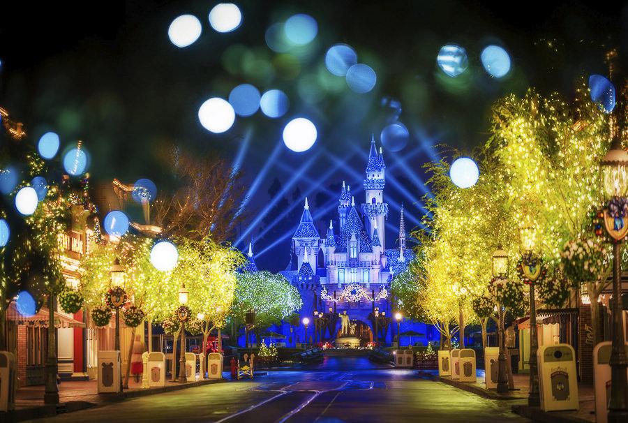 Castle Under the Christmas Tree by Tom Bricker