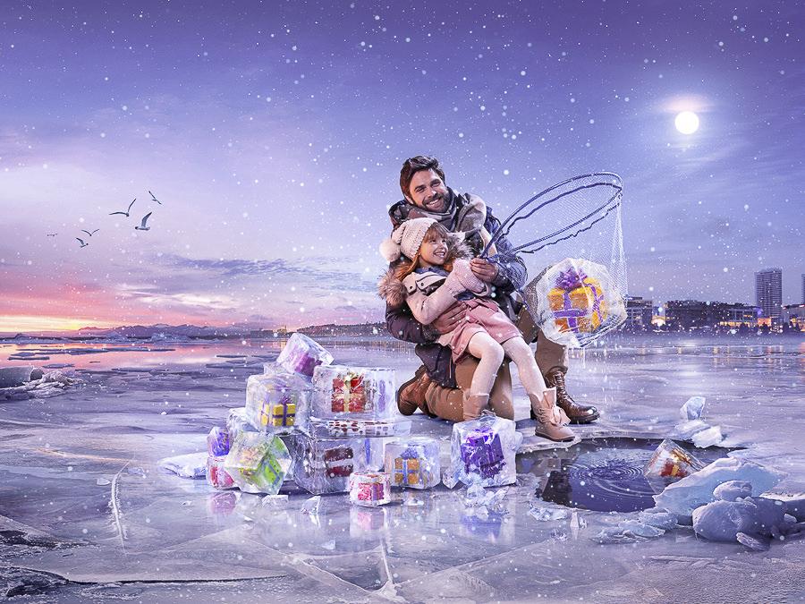Eurovea Christmas Campaign by Jakub Goda