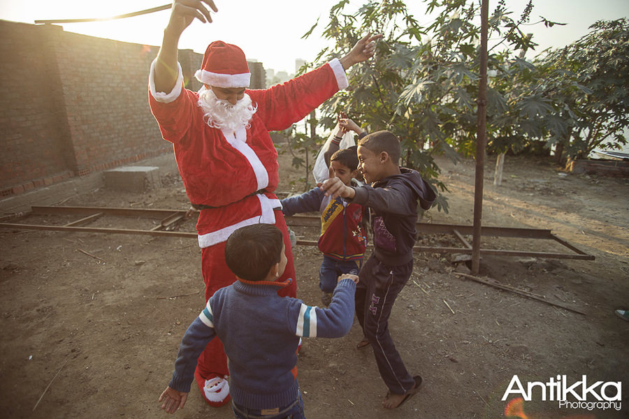 Santa claus in EGYPT 2015 by Hossam Atef