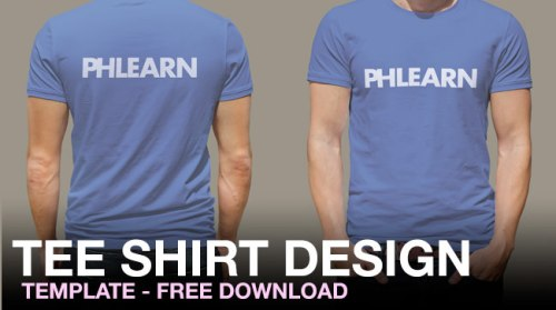 Phlearn_tee_shirt_design_template