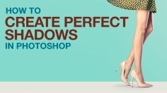 Photoshop Tutorials: How to Create Perfect Shadows in Photoshop