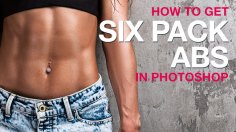 Photoshop Tutorials: How to Get Six Pack Abs in Photoshop