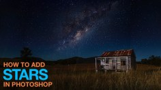 Photoshop Tutorials: How to Add Stars in Photoshop