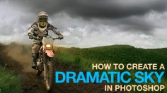 Photoshop Tutorials: How to Create a Dramatic Sky in Photoshop