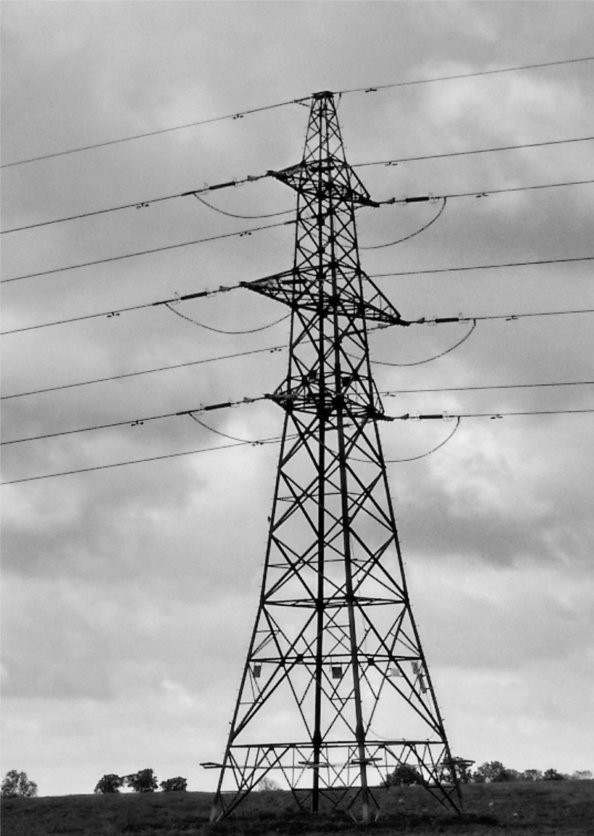 image of electricity pylon tower