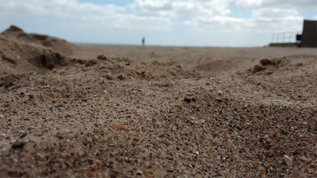 image of sand at seaside