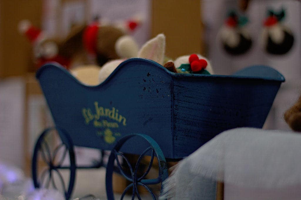 image of toy handmade carriage