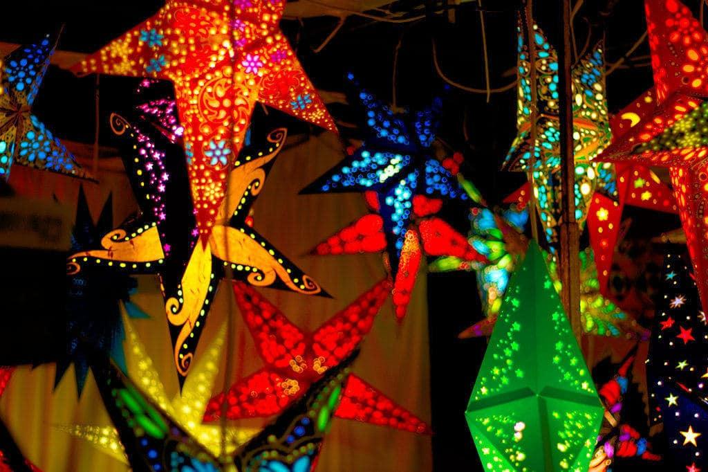 image of paper lights