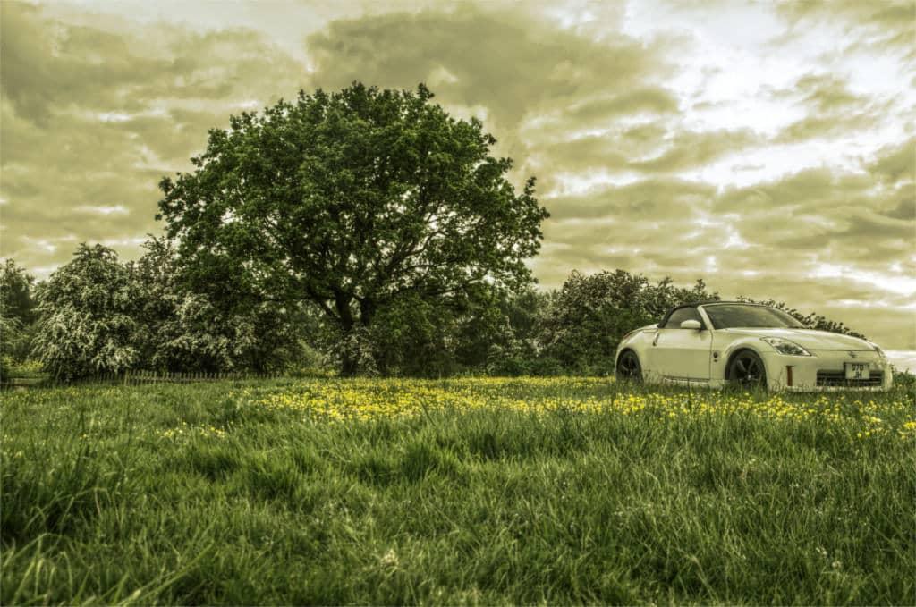 nissan car landscapre