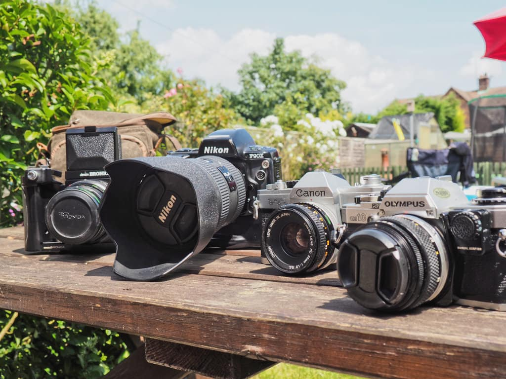 film cameras owned by phlogger