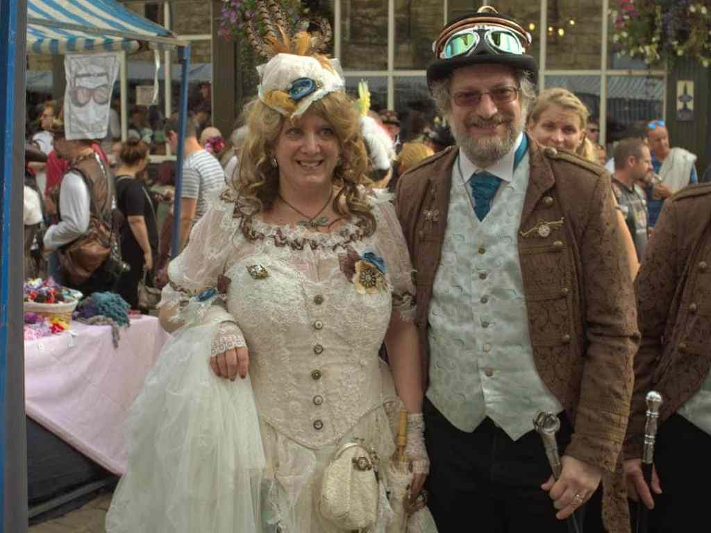 steampunk sessions - One of the whacky costumes