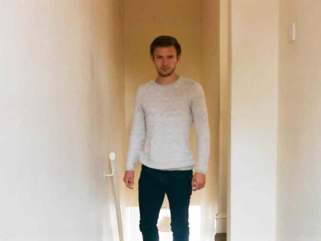 "negative journey ends - James Morris (""the selfie"