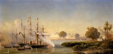 Verovering van Saigon 1859 (Painter Antoine Morel-Fatio/Public Domain)