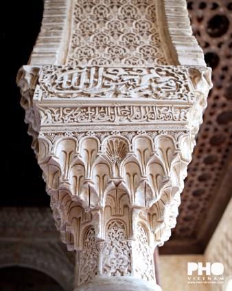 Alhambra in Granada (foto: Pho Vietnam © Kim Le Cao)