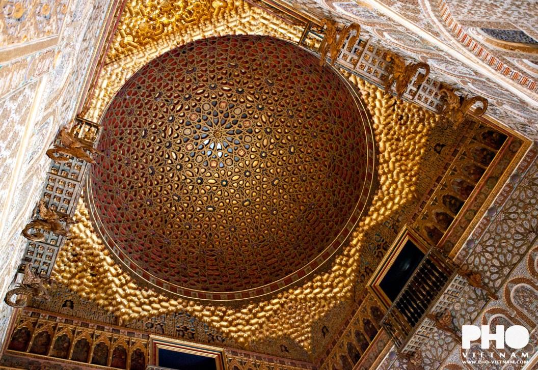 Real Alcázar in Sevilla (foto: Pho Vietnam © Kim Le Cao)