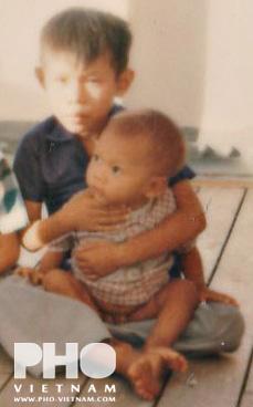 Mijn oudste broer en broertje