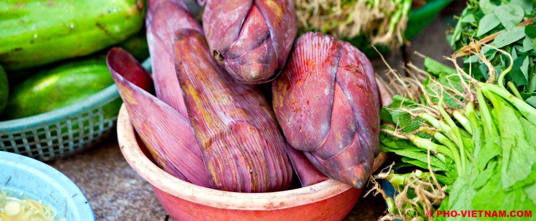 Bananenbloesem (foto: Pho Vietnam © Kim Le Cao)