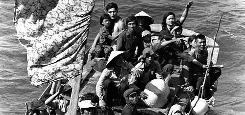 Vietnamese bootvluchtelingen