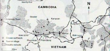 Archeologische vondsten Cambodja en Vietnam (foto: cc-by universiteit van Hawaï)