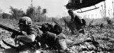 Amerikaanse militairen tijdens de Vietnamoorlog