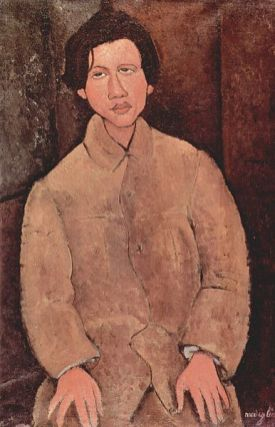 Portret of Chaïm Soutine by Amedeo Modigliani (source: The Yorck Project: 10.000 Meisterwerke der Malerei. DVD-ROM, 2002. ISBN 3936122202. Distributed by DIRECTMEDIA Publishing GmbH)