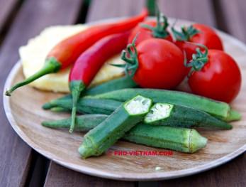 Ingrediënten Canh ca chua (foto: Pho Vietnam © Kim Le Cao)