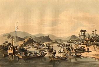 Eerste handelsnederzetting in Faifo, de huidige Hoi An ( John Barrow/Public domain)