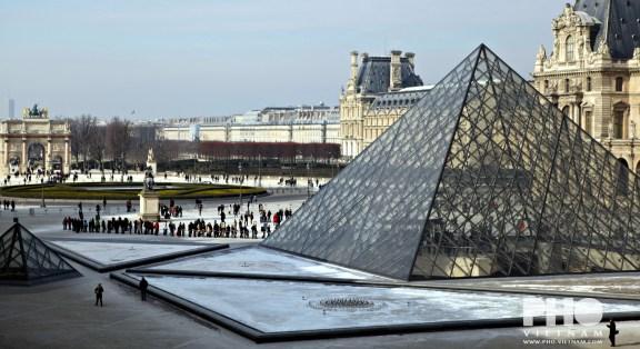 Het Louvre (foto: Kim Le Cao © Pho Vietnam)
