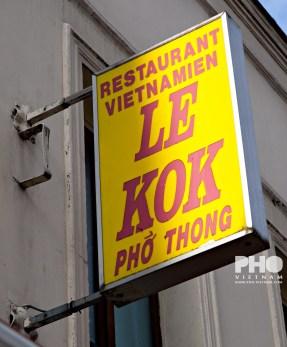 Restaurant in Parijs (foto: Kim Le Cao © Pho Vietnam)