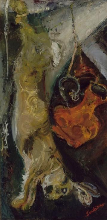 Chaïm Soutine Rabbit 1923-1924 Paris, musée de l'Orangerie © RMN-Grand Palais (musée de l'Orangerie) / Hervé Lewandowski